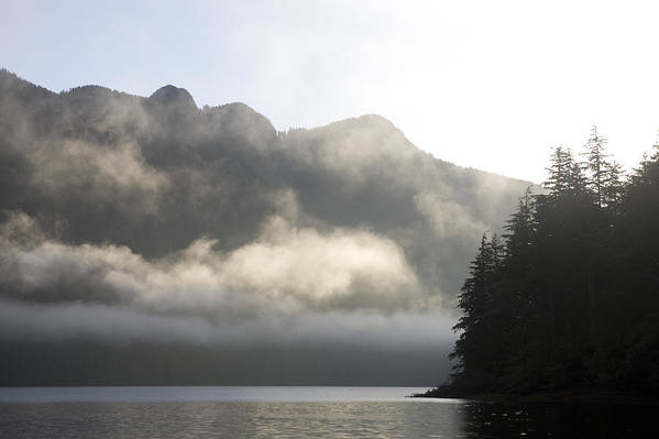 Queen Charlotte Islands Poster featuring the photograph Sunrise In Haida Gwaii by Taylor S. Kennedy