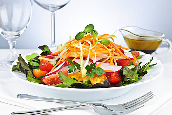 Garden Poster featuring the photograph Garden Salad by Elena Elisseeva