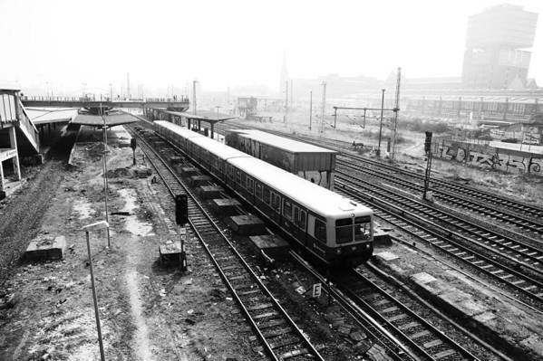 Bahn Poster featuring the photograph S-bahn Berlin by Falko Follert