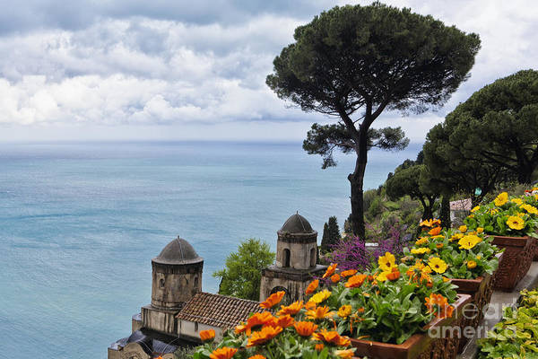 Sorrentine Peninsula Poster featuring the photograph Amalfi Coast Spring Vista by George Oze