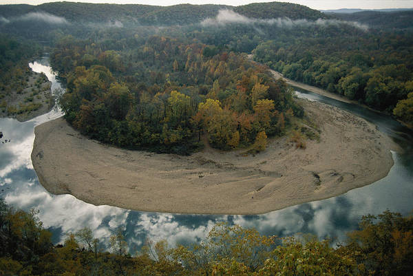Outdoors Poster featuring the photograph Autumnal View Of One Of The Loops by Randy Olson