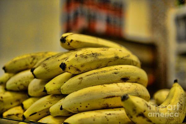 Banana Poster featuring the photograph Bananas by Paul Ward
