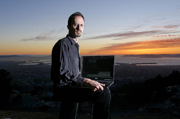 David P. Anderson Poster featuring the photograph David P. Anderson, Us Computer Scientist by Volker Steger