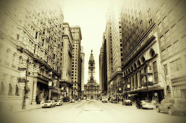 Philadelphia Poster featuring the photograph Dreamy Philadelphia by Bill Cannon