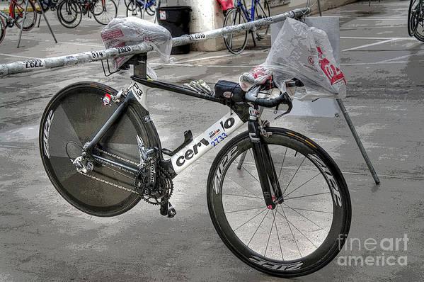 Ironman Bike Poster featuring the photograph Ironman Tool by David Bearden