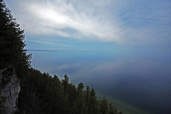 Door County Poster featuring the photograph Mirror Clouds by Ty Helbach