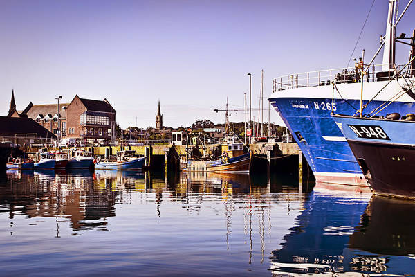 Bangor Poster featuring the photograph Moored Up by Chris Cardwell