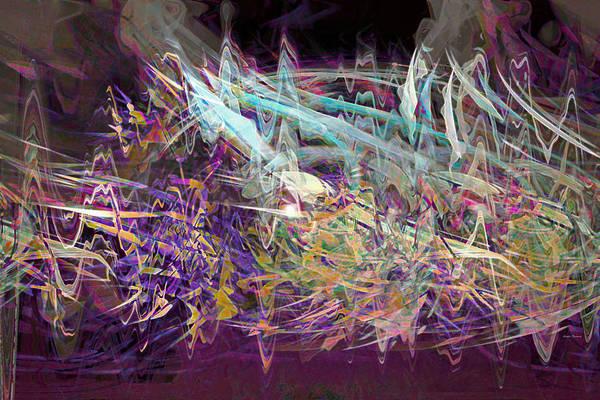 Symphony Poster featuring the digital art My Symphony by Linda Sannuti