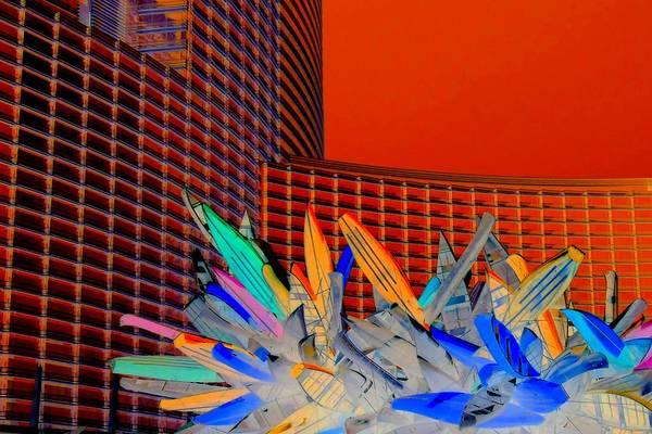 Las Vegas Poster featuring the digital art My Vegas City Center 59 by Randall Weidner