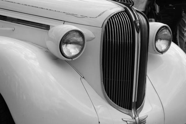 Car Poster featuring the photograph Old Timer by Desiree Lyon