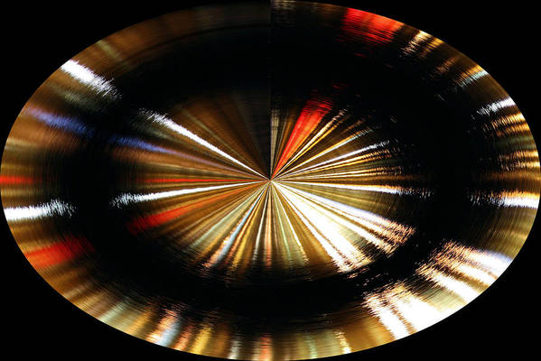 Spinning Poster featuring the photograph Out Of Control by Kristin Elmquist