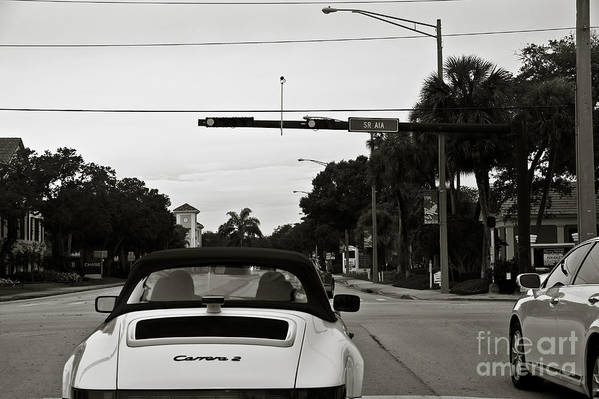 Porsche Poster featuring the photograph Porsche 911 Carrera 2 by Andrew Cragin