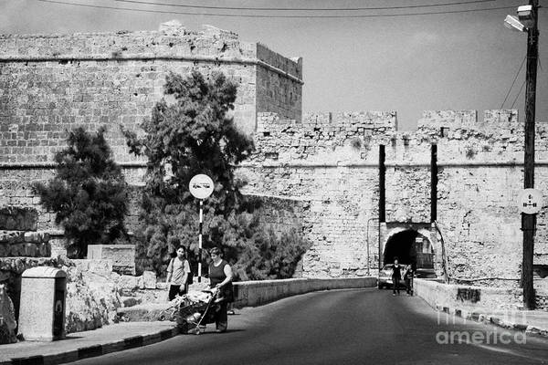 Famagusta Poster featuring the photograph Porta Di Limisso Old Land Limassol Gate In The Old City Walls Famagusta by Joe Fox