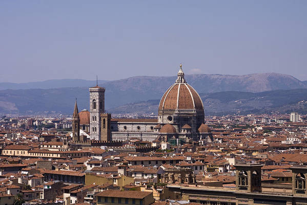 Architecture Poster featuring the photograph The Duomo Florence by Trevor Buchanan