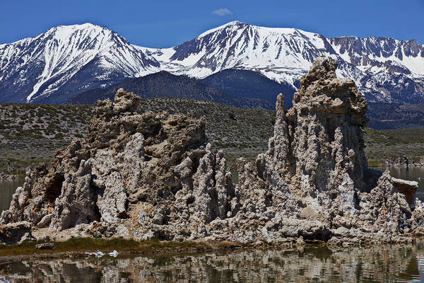 Tufa Poster featuring the photograph Tufa At Mono Lake California by Garry Gay