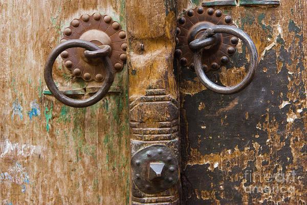 Door Poster featuring the photograph Door Knob by Juan Silva
