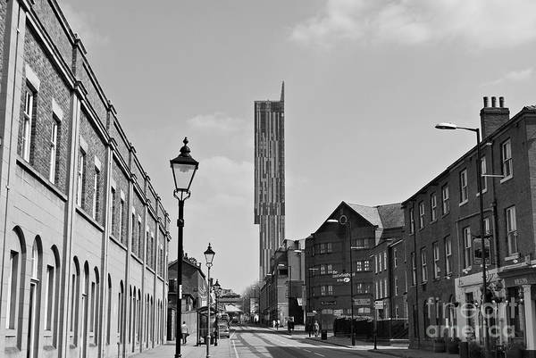 Architecture Poster featuring the photograph Manchester - Beetham Tower by Hristo Hristov