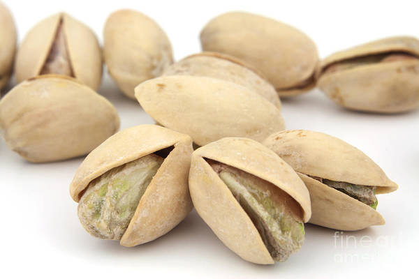 Pistachio Poster featuring the photograph Pistachios by Blink Images
