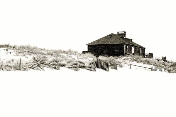 Beach House Poster featuring the photograph Beach House - Jersey Shore by Angie Tirado
