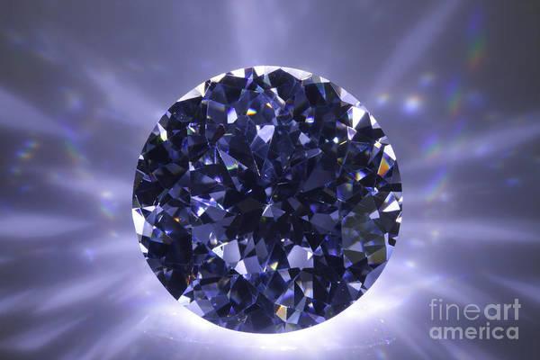 Abundance Poster featuring the jewelry Black Diamond Shine Aura. by Atiketta Sangasaeng