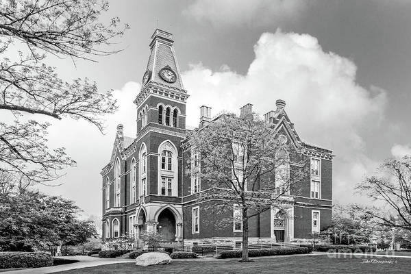 Depauw University Poster featuring the photograph De Pauw University East College by University Icons