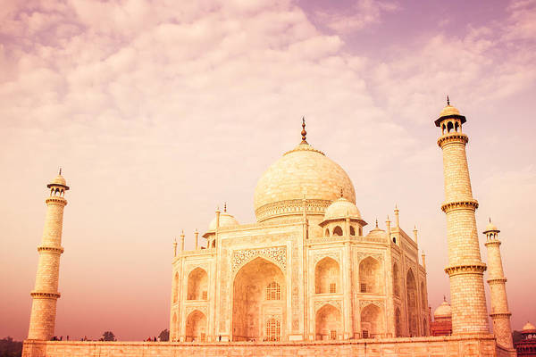 Ancient Poster featuring the photograph Hot Taj Mahal by Nila Newsom