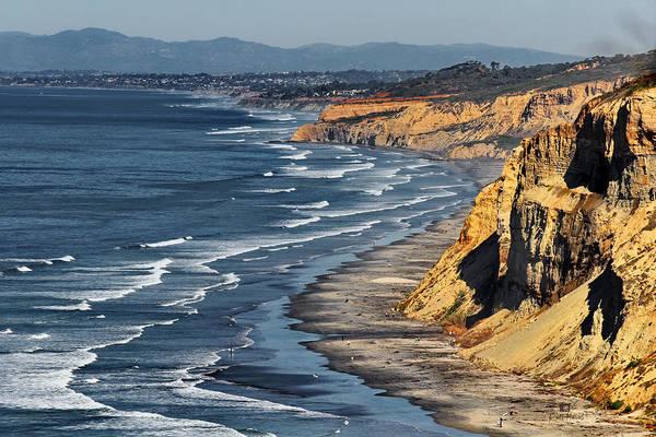 Coast Blvd Poster featuring the photograph La Jolla Cliffs Over Blacks by Russ Harris