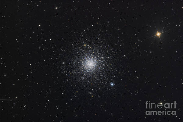 Messier 3 Poster featuring the photograph Messier 3, A Globular Cluster by Roth Ritter