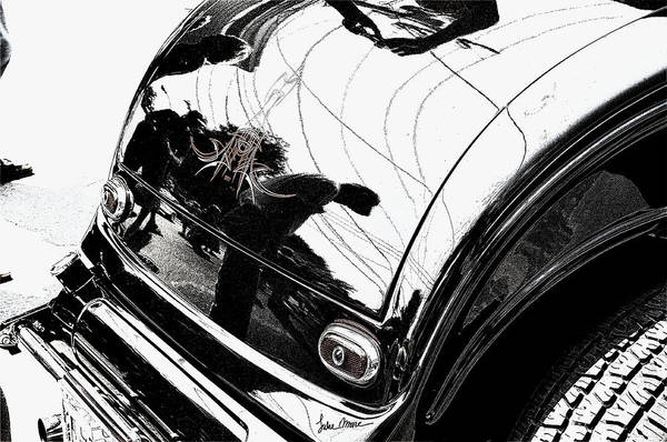 Hot Rod Poster featuring the photograph No. 1 by Luke Moore