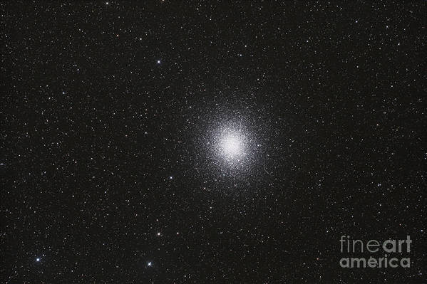 Globular Clusters Poster featuring the photograph Omega Centauri Globular Star Cluster by Philip Hart