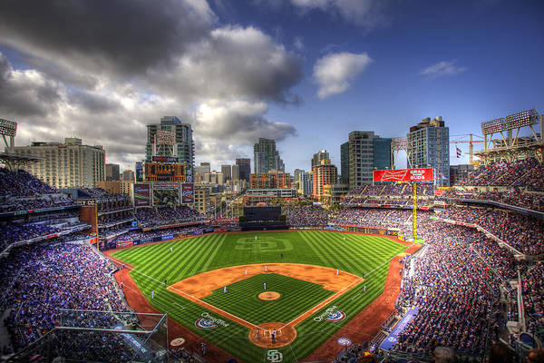 Petco Park Poster featuring the photograph Petco Park Opening Day by Shawn Everhart