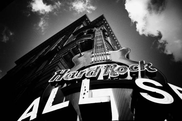 Philadelphia Poster featuring the photograph Philadelphia Hard Rock Cafe by Bill Cannon