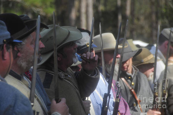 Rebels Poster featuring the photograph Rebel Bayonets by David Lee Thompson
