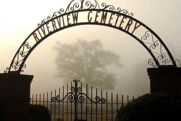 Hattiesburg Poster featuring the photograph Riverview Cemetery II by Wayne Archer