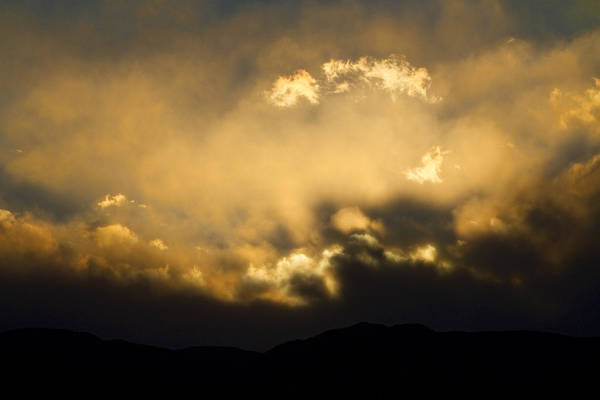 Colorado Poster featuring the photograph Rocky Mountain Continental Divide Sunset by James BO Insogna
