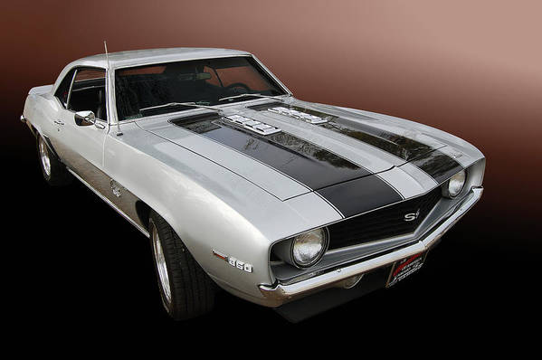 69 Poster featuring the photograph S S Camaro by Bill Dutting