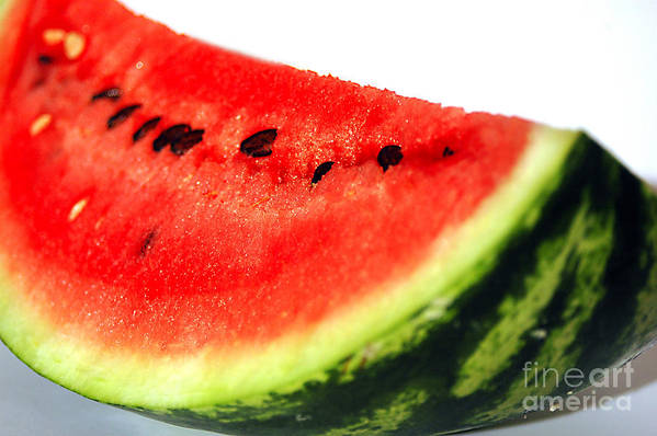 Watermelon Poster featuring the photograph So Sweet by Deborah MacQuarrie-Haig