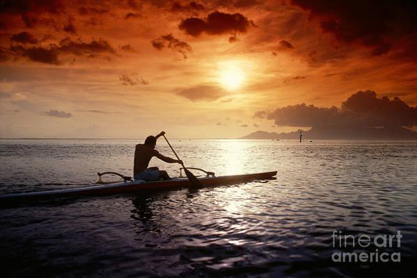 A56e Poster featuring the photograph Tahiti, Papeete by Joe Carini - Printscapes