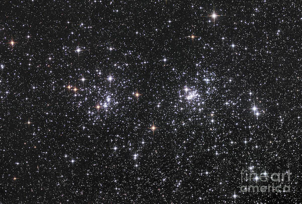 Astronomy Poster featuring the photograph The Double Cluster, Ngc 884 And Ngc 869 by Robert Gendler