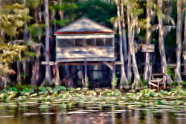 bald Cypress Poster featuring the photograph The Tea Room by Lana Trussell