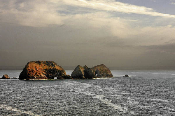 National Wildlife Refuge Poster featuring the photograph Three Arch Rocks - Oceanside Near Cape Meares - Oregon by Christine Till