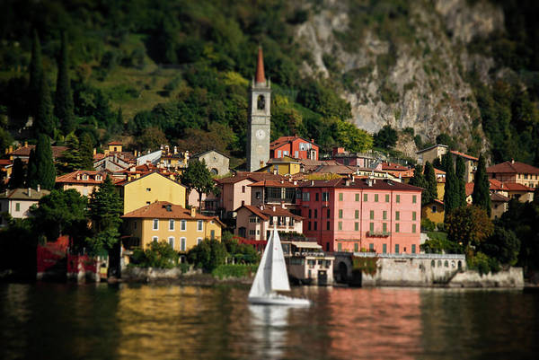 Lago Di Como Poster featuring the photograph Varenna Approach by Chuck Parsons