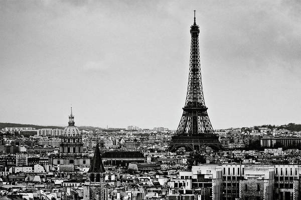 Horizontal Poster featuring the photograph View Of City by Sbk_20d Pictures