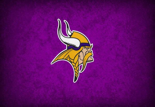 Vikings Poster featuring the photograph Minnesota Vikings by Joe Hamilton