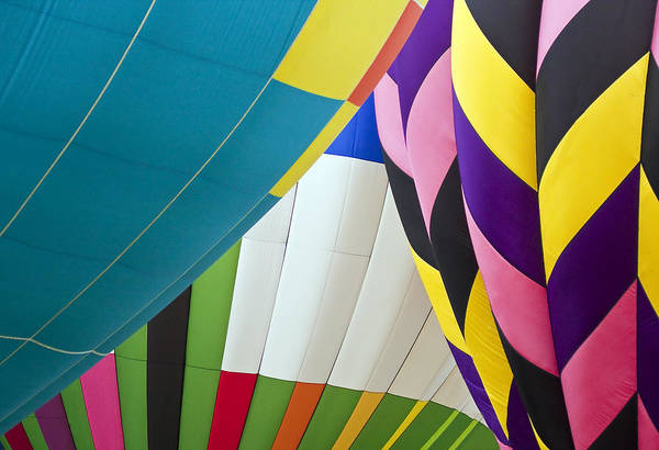 Transportation Poster featuring the photograph Hot Air Balloon by Marcia Colelli