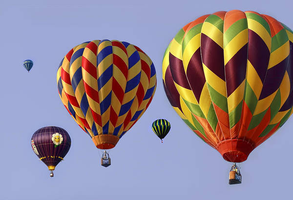 Hot Poster featuring the photograph Up Up And Away by Marcia Colelli
