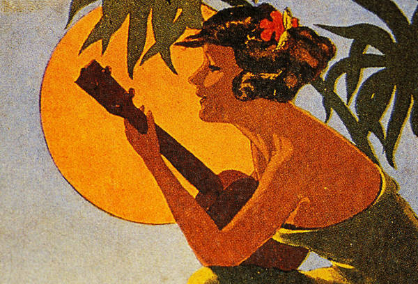 1925 Poster featuring the painting Vintage Hawaiian Art by Hawaiian Legacy Archive - Printscapes