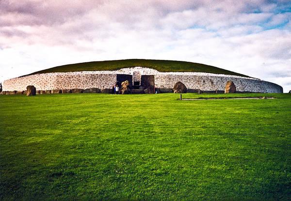 Newgrange Poster featuring the photograph Newgrange Morning by Douglas Barnett