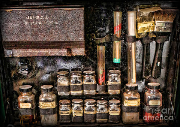 Csi Poster featuring the photograph 1800's Fingerprint Kit II by Lee Dos Santos