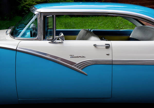 Hdr Poster featuring the photograph Car - Victoria 56 by Mike Savad